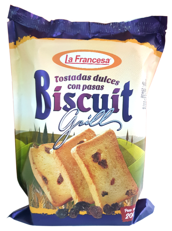 Biscuit con pasas